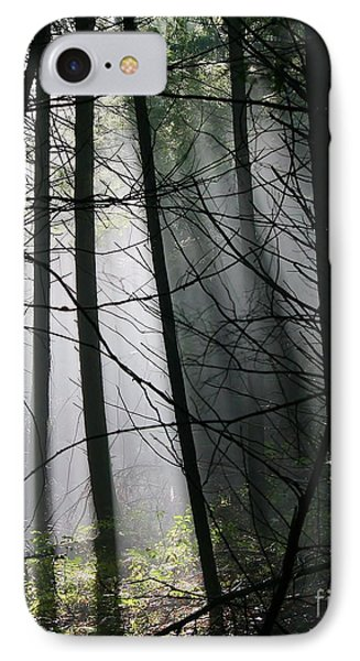 Encounters Of The Vermont Kind  IPhone Case by Neal Eslinger