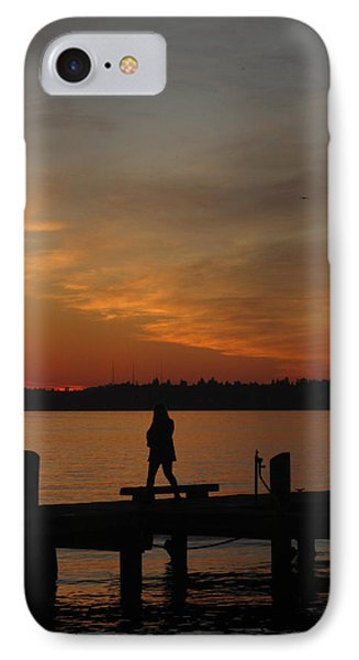 IPhone Case featuring the photograph End Of A Day by Cheryl Perin