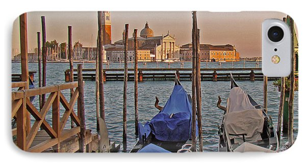 Venice End Of A Day IPhone Case by Walter Fahmy