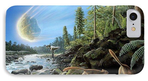 End Of Cretaceous Kt Event IPhone Case