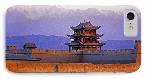 End Of Great Wall IPhone Case by Dennis Cox ChinaStock