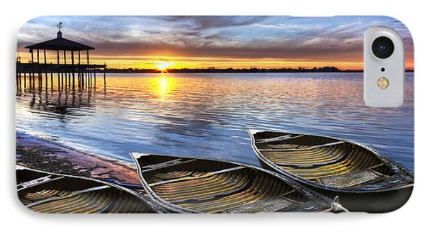 End Of The Day Phone Case by Debra and Dave Vanderlaan