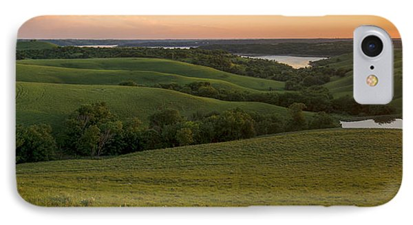 End Of The Day In The Flint Hills IPhone Case by Scott Bean