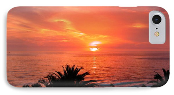 End Of The Day IPhone Case by Mariarosa Rockefeller