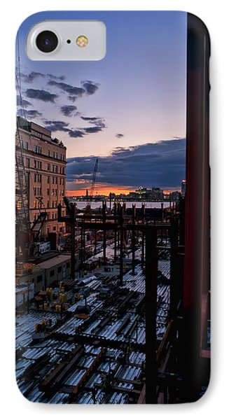 End Of The Day IPhone Case by Steve Sahm