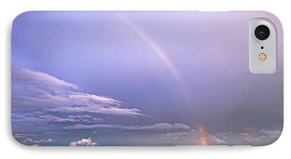 End Of The Rainbow Sebago Lake Maine IPhone Case