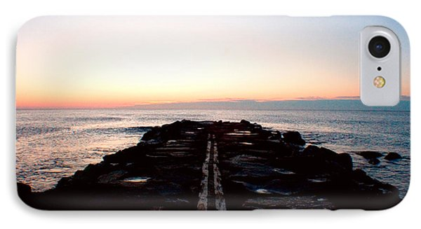 IPhone Case featuring the photograph End Of The Road by Jon Emery