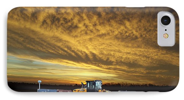 End Of The Work Day Digital Art IPhone Case by Thomas Woolworth