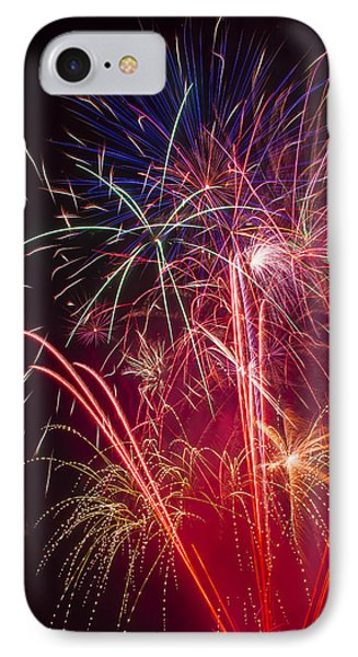 Endless Fireworks IPhone Case
