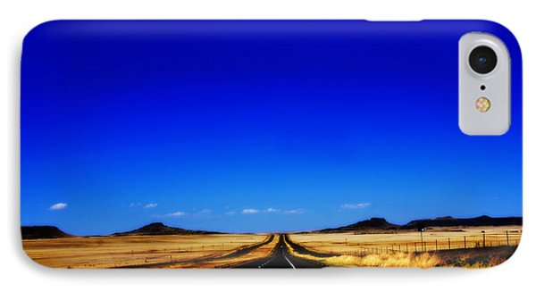 Endless Roads In New Mexico Phone Case by Susanne Van Hulst
