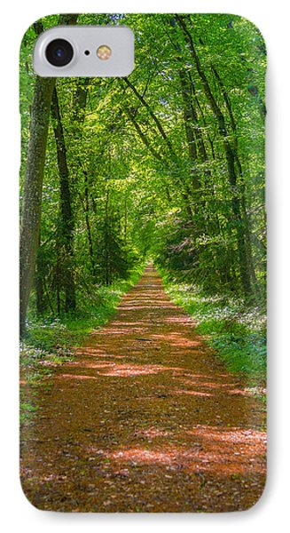 Endless Trail Into The Forest Phone Case by Nila Newsom