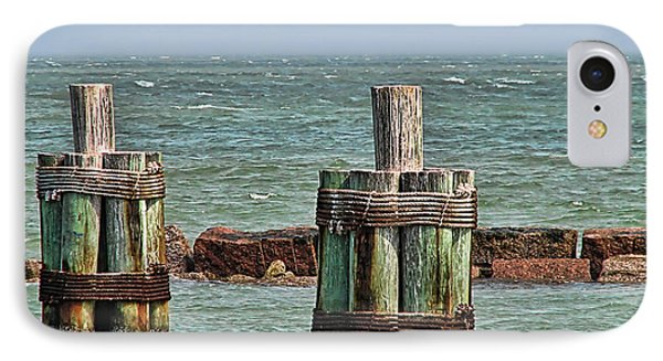 Endlessly Staring Out To Sea Phone Case by Wendy J St Christopher