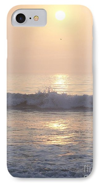IPhone Case featuring the photograph Hampton Beach Wave Ends With A Splash by Eunice Miller