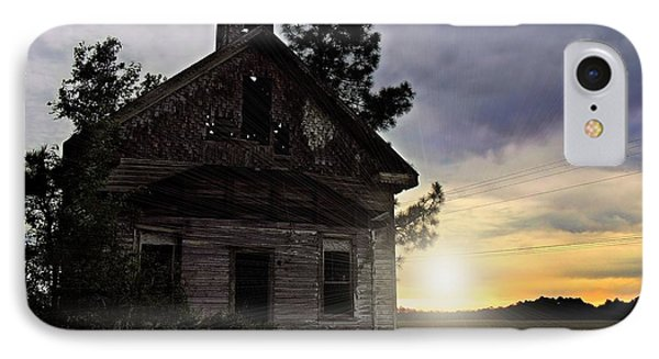 IPhone Case featuring the photograph Enduring Faith by Laura Ragland