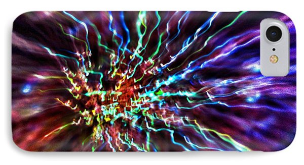 Energy 2 - Abstract IPhone Case by Marianna Mills