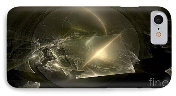 Energy Breaks Phone Case by Peter R Nicholls
