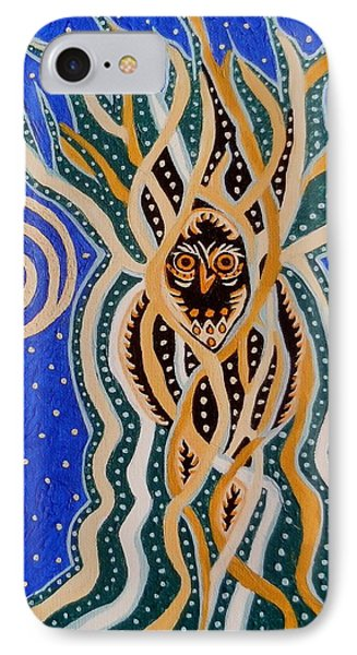 Energy Of The Night IPhone Case by Carolyn Cable