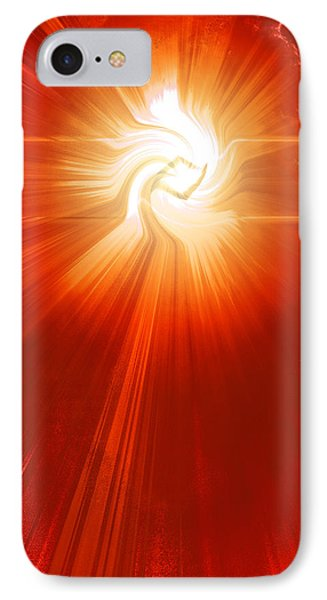 Energy Warp IPhone Case by Kellice Swaggerty