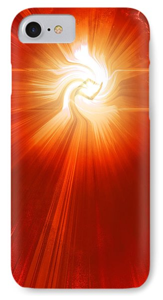 IPhone Case featuring the photograph Energy Warp by Kellice Swaggerty