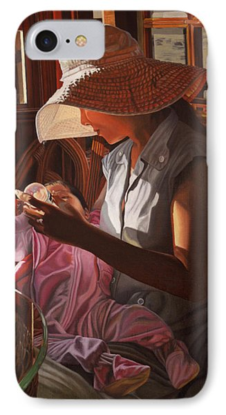 IPhone Case featuring the painting Enfamil At Ha Long Bay Vietnam by Thu Nguyen