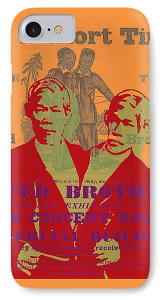 Eng And Chang IPhone Case by Jean luc Comperat