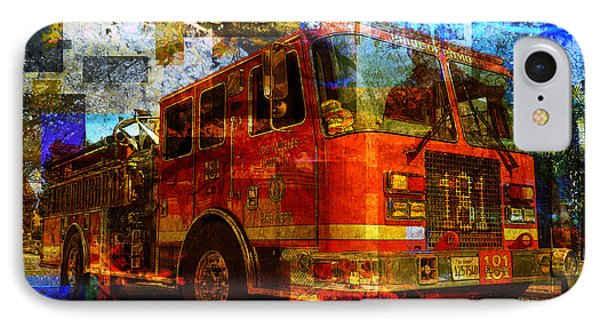 Engine 181 Phone Case by Robert Ball