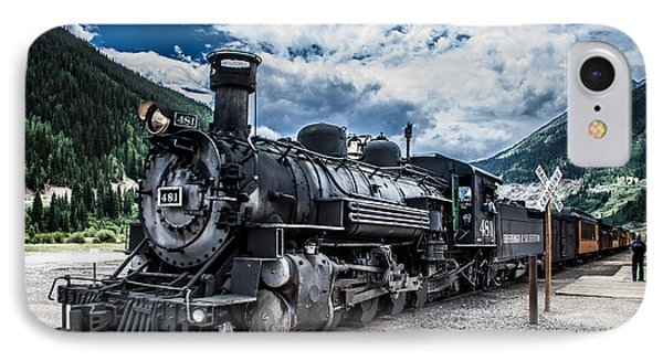 Engine 481 IPhone Case by Jim McCain