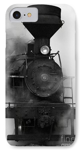 IPhone Case featuring the photograph Engine No. 6 by Jerry Fornarotto