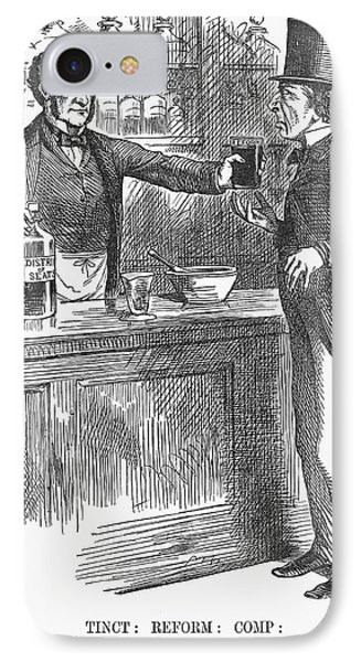 England Reform Bill, 1866 IPhone Case by Granger