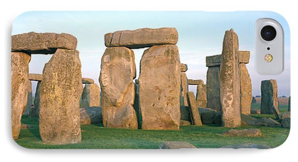 England, Wiltshire, Stonehenge IPhone Case by Panoramic Images