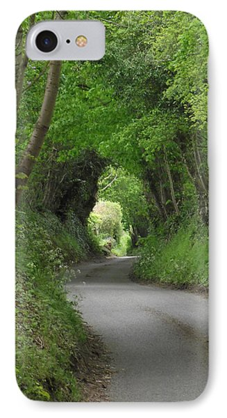 IPhone Case featuring the photograph English Country Lane by Jayne Wilson