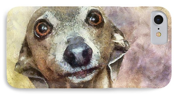 IPhone Case featuring the painting English Hound Hunting Dog by Georgi Dimitrov