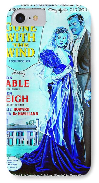 English Poster Of Gone With The Wind IPhone Case by Art Cinema Gallery