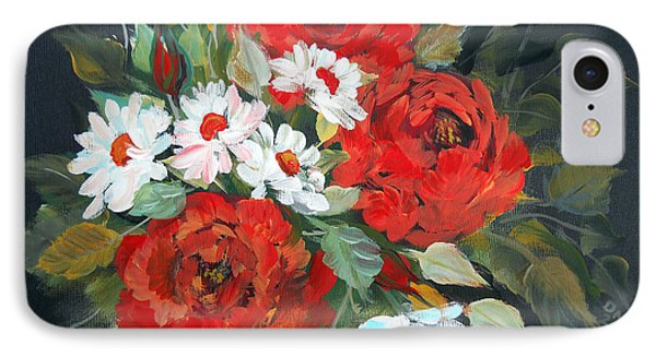 English Roses IPhone Case by Dorothy Maier