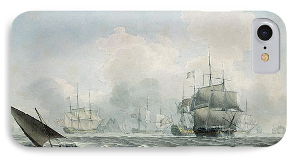 English Ships Of War IPhone Case