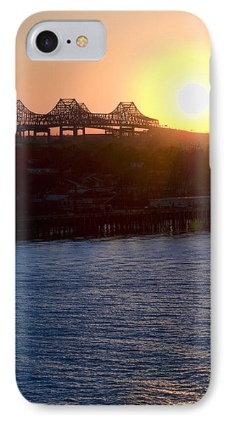 IPhone Case featuring the photograph English Turn Sunset In New Orleans by Ray Devlin