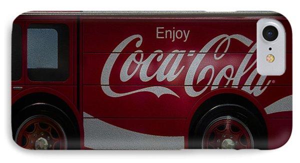 Enjoy Coca Cola Phone Case by Susan Candelario