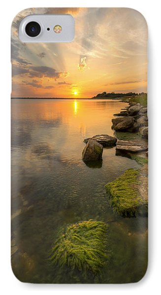 Enjoying Sunset IPhone Case by Scott Bean