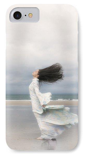 Enjoying The Wind Phone Case by Joana Kruse