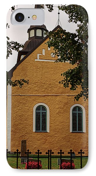 enkoepingsnaes church from east Db IPhone Case