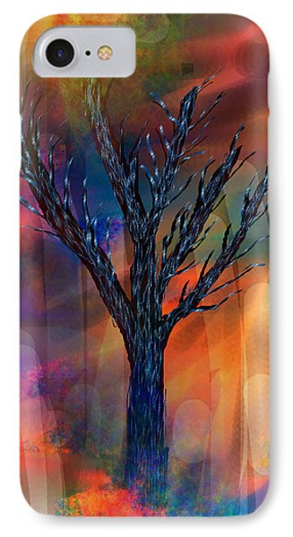 IPhone Case featuring the painting Enlightenment by Yul Olaivar