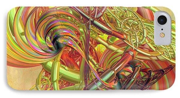 Entanglement Of Life IPhone Case by Deborah Benoit