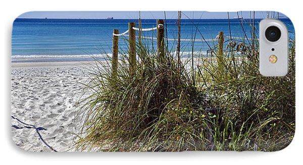 Enter The Beach Phone Case by Susan Leggett