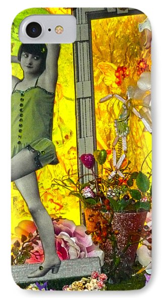 Enticing Antics  IPhone Case by Empty Wall