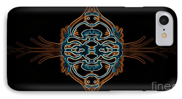 Entity Variation 3 IPhone Case by Devin Cogger