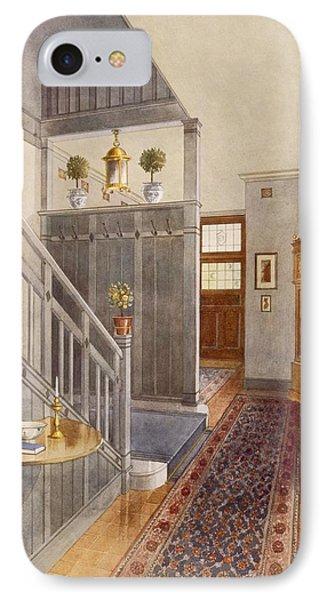Entrance Passage IPhone Case by Richard Goulburn Lovell