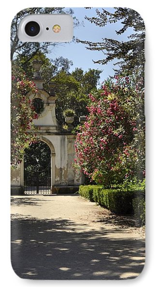 IPhone Case featuring the photograph Entrance To A Secret Garden by Sandy Molinaro