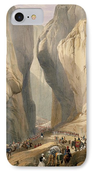 Entrance To The Bolan Pass From Dadur IPhone Case