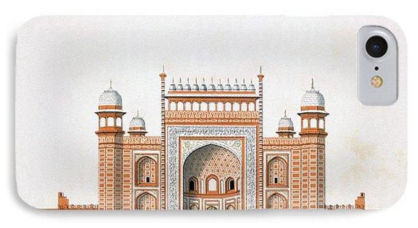 Entrance To The Taj Mahal IPhone Case