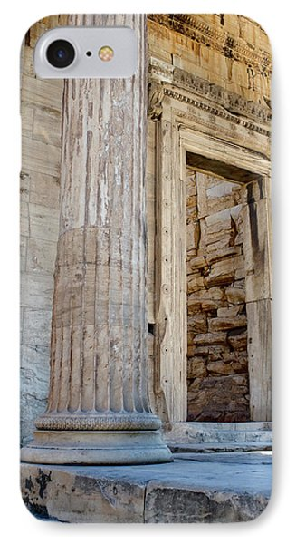 Entrance To The Temple Of The Athena Nike IPhone Case